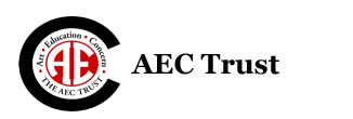 A.E.C. Trust: Art, Education, Concern. logo