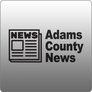 Adams County News with Newspaper Icon