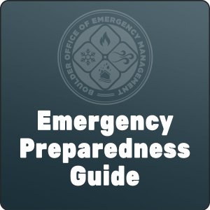 Emergency Preparedness Guide from the Boulder Office of Emergency Management podcast